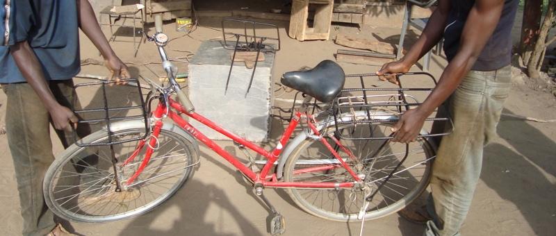 Lasten-Gepäckträger Design Ghana 2011