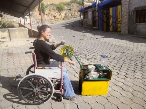 """Mensch und Fahrradmaschine – """"Maya Pedal"""" in Guatemala"""