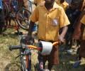 Pro-Link`s Fahrrad Dorfprojekt in Ghana