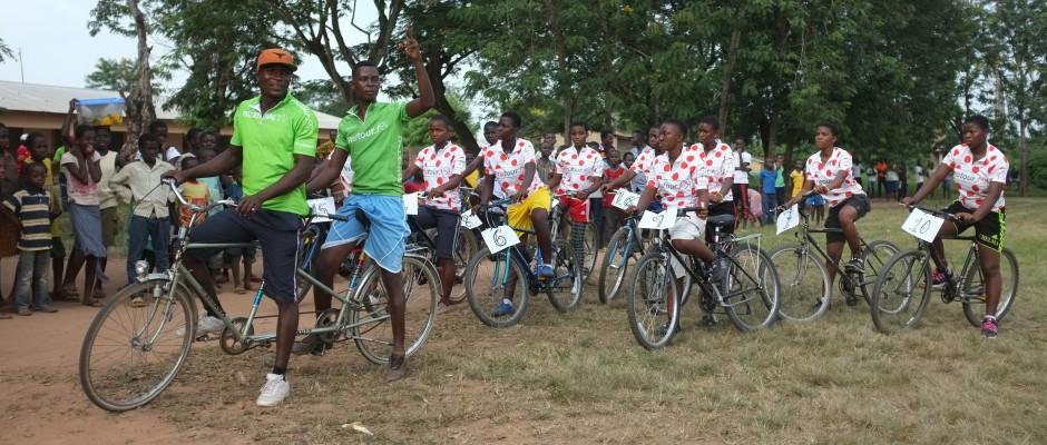 Partnerprojekt VCP Mädchenrennen Apeguso, Ghana 2013